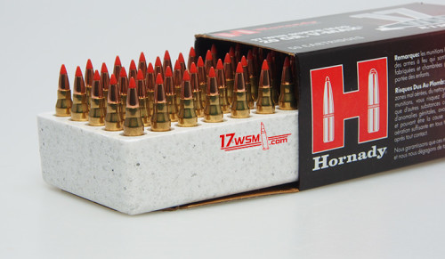 Hornady 17WSM Ammunition is Now Available